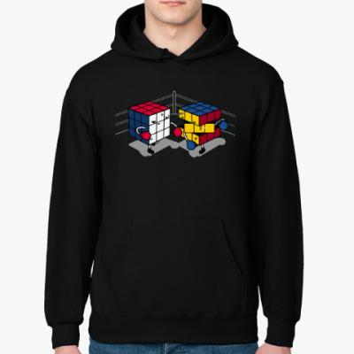 Толстовка худи Кубик Рубика   Спидкубинг
