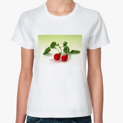 Классическая футболка Редиска