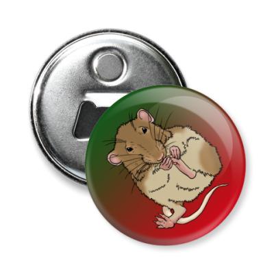 Магнит-открывашка Мышь
