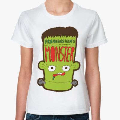 Классическая футболка Франкенштейн