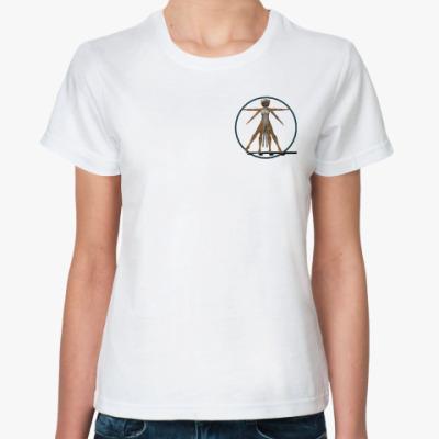 Классическая футболка  футболка Леодавинчи
