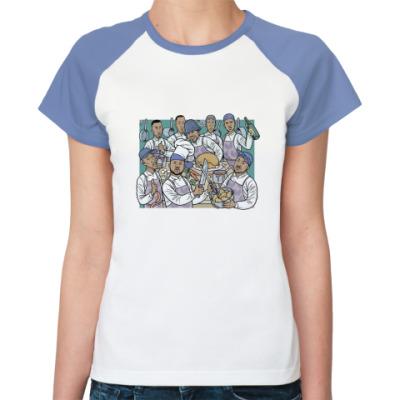 Женская футболка реглан Wu-Tang Clan Cooking