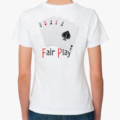 Классическая футболка Честный игок