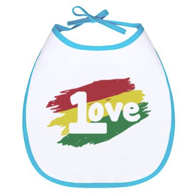 Слюнявчик 1 Love