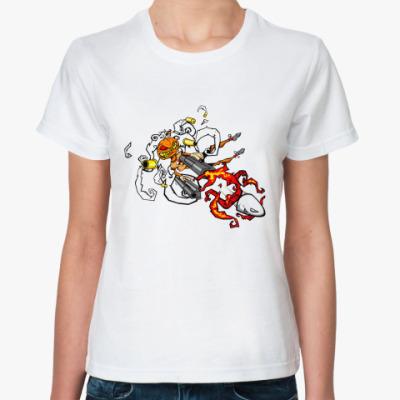Классическая футболка Hall Bullet Ж