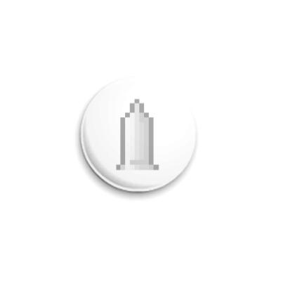 Значок 25мм  ICQ Статус #33