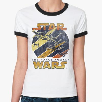 Женская футболка Ringer-T Звёздные Войны