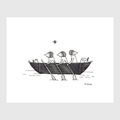 Постер Rowing