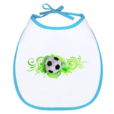 Слюнявчик Футбольный мяч