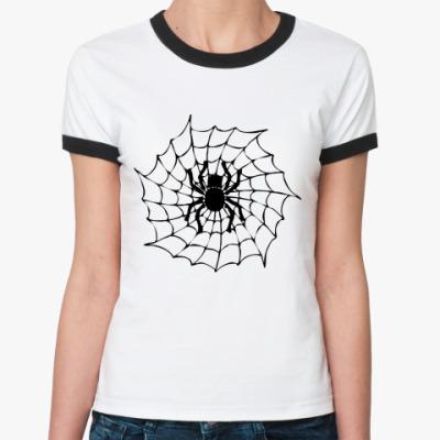 Женская футболка Ringer-T Spider