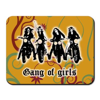 Коврик для мыши 'Gung of girls'