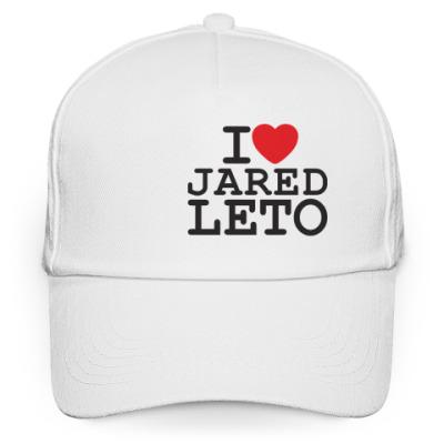 Кепка бейсболка I love Jared Leto