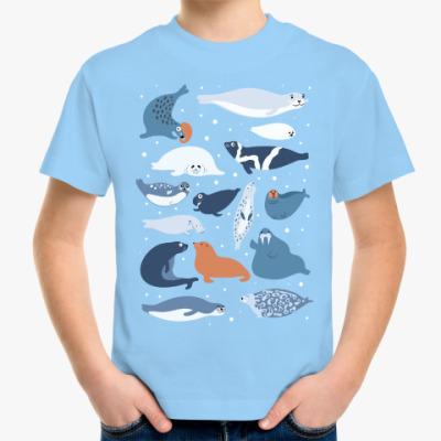 Детская футболка Ластоногие