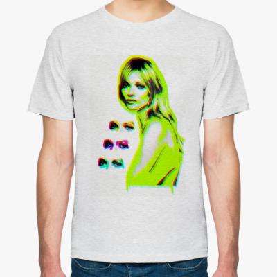 Футболка Kate Moss (neon lime)