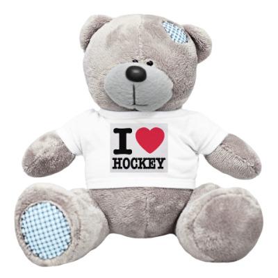 Плюшевый мишка Тедди hockey