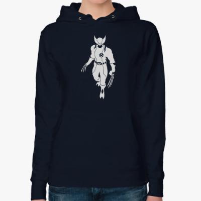 Женская толстовка худи Wolverine