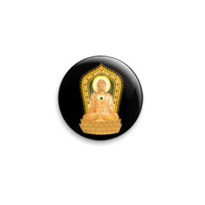 Значок 25мм Buddha