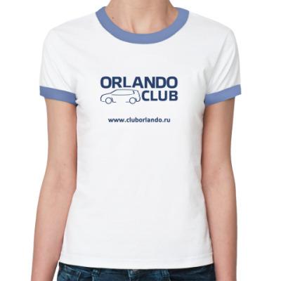 Женская футболка Ringer-T   (уб)