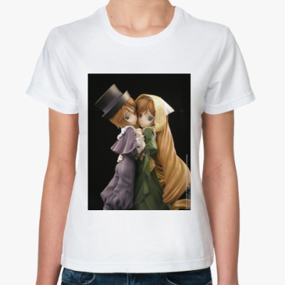Классическая футболка  Rozen Maiden Ж  бел