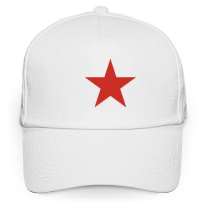 Кепка бейсболка Красная звезда