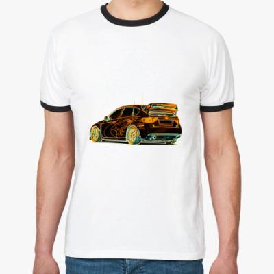 Футболка Ringer-T Subaru