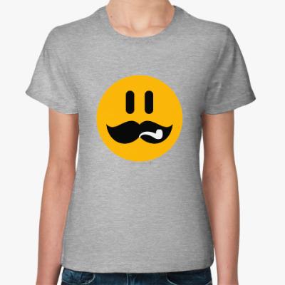 Женская футболка Сталин смаил.