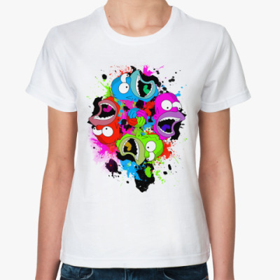Классическая футболка Too much Homer Жен футболка