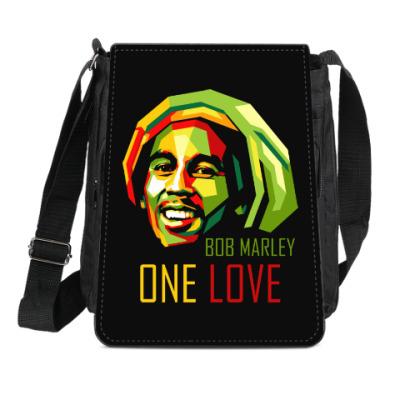 Сумка-планшет Боб Марли