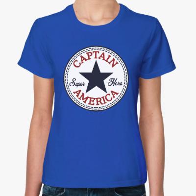 Женская футболка Супер герой