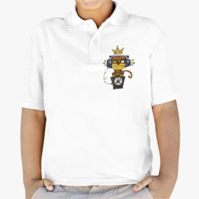 Детская рубашка поло Funky Monkey