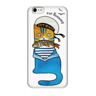 Чехол для iPhone 6/6s кот морской