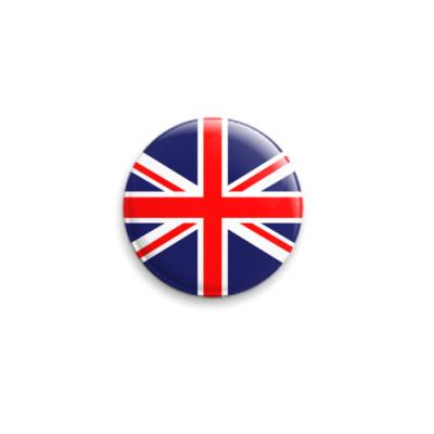 Значок 25мм Британия