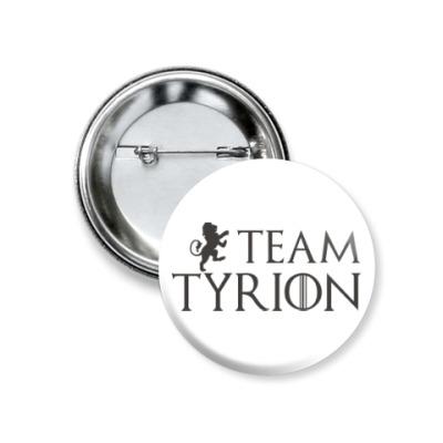 Значок 37мм Команда Тириона