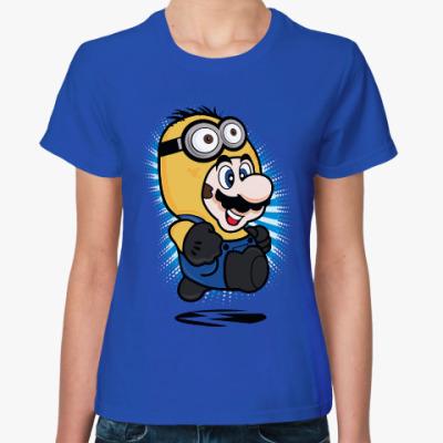 Женская футболка Супер Марио Миньон