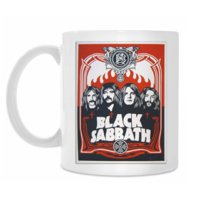 Кружка Black Sabbath