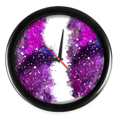 Настенные часы Млечный путь