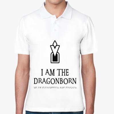 Рубашка поло Dragonborn Skyrim