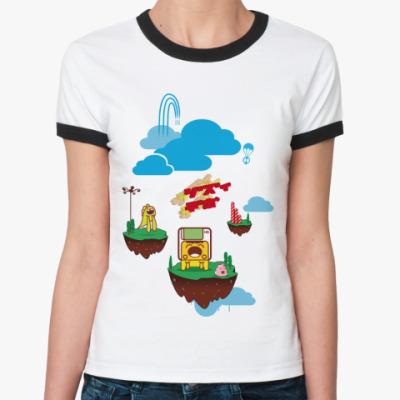 Женская футболка Ringer-T   Dream