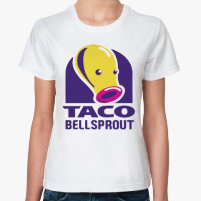 Классическая футболка Беллспраут (Покемон)