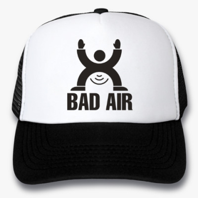 Кепка-тракер Плохой воздух