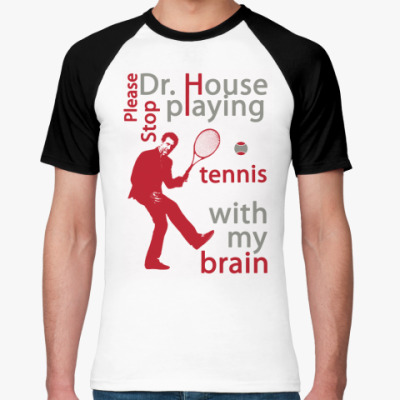Футболка реглан House tennis