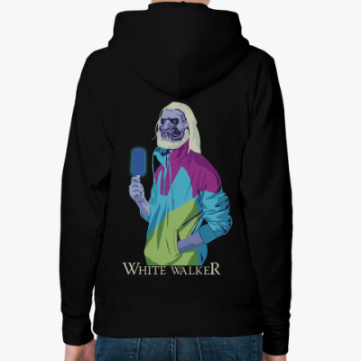 Женская толстовка худи White Walker Игра престолов
