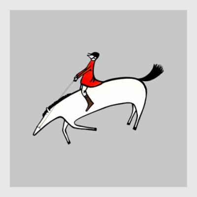 Постер Horse rider