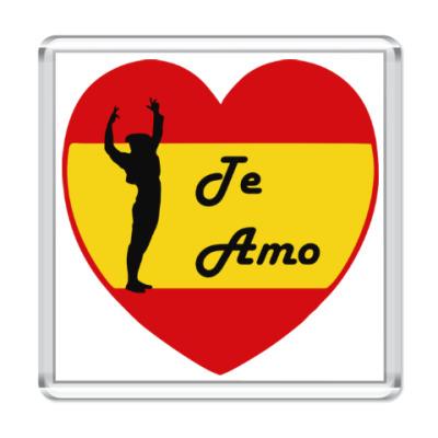 Магнит Я люблю тебя по-испански