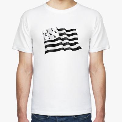 Футболка Бретонский флаг