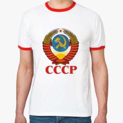 Футболка Ringer-T  СССР