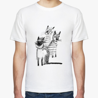 Футболка Банда котов