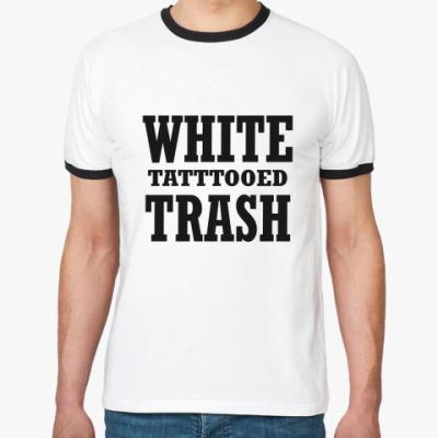 Футболка Ringer-T   WHITE