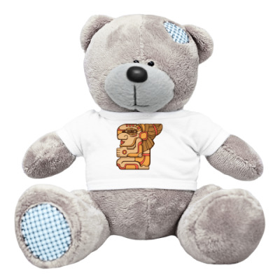 Плюшевый мишка Тедди индеец