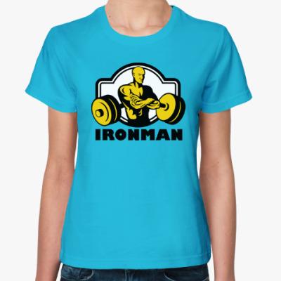 Женская футболка Ironman
